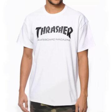 Thrasher Skate Mag - White T-Shirt